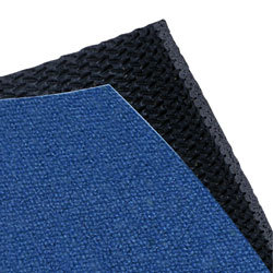 Blue and black acoustic panel