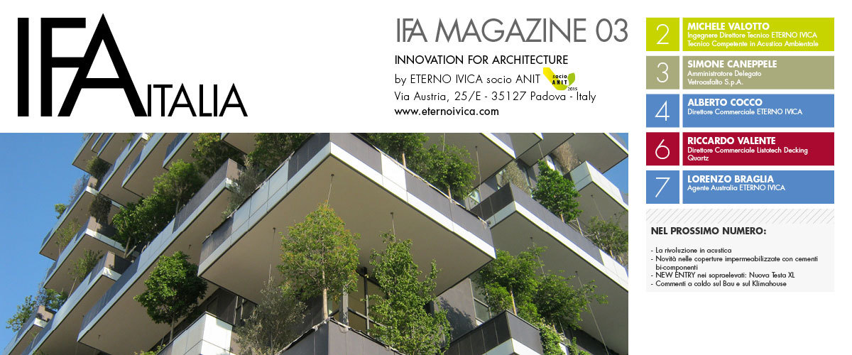 IFA MAGAZINE 03 • Innovation for architecture