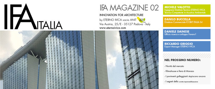 IFA MAGAZINE 02 • Innovation for architecture