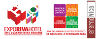 EXPO RIVA HOTEL • 31 January-3 February 2016 • Riva del Garda (TN)