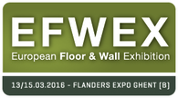 EFWEX • 13-15 March 2016 • Ghent