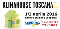 KLIMAHOUSE TOSCANA 2016 • 1-3 April • Firenze