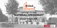 MATERIALI SPESSORATI • July 14, 2016 • Sassuolo (MO)