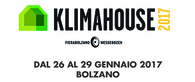 KLIMAHOUSE 2017 • 26th - 29th January • Bolzano