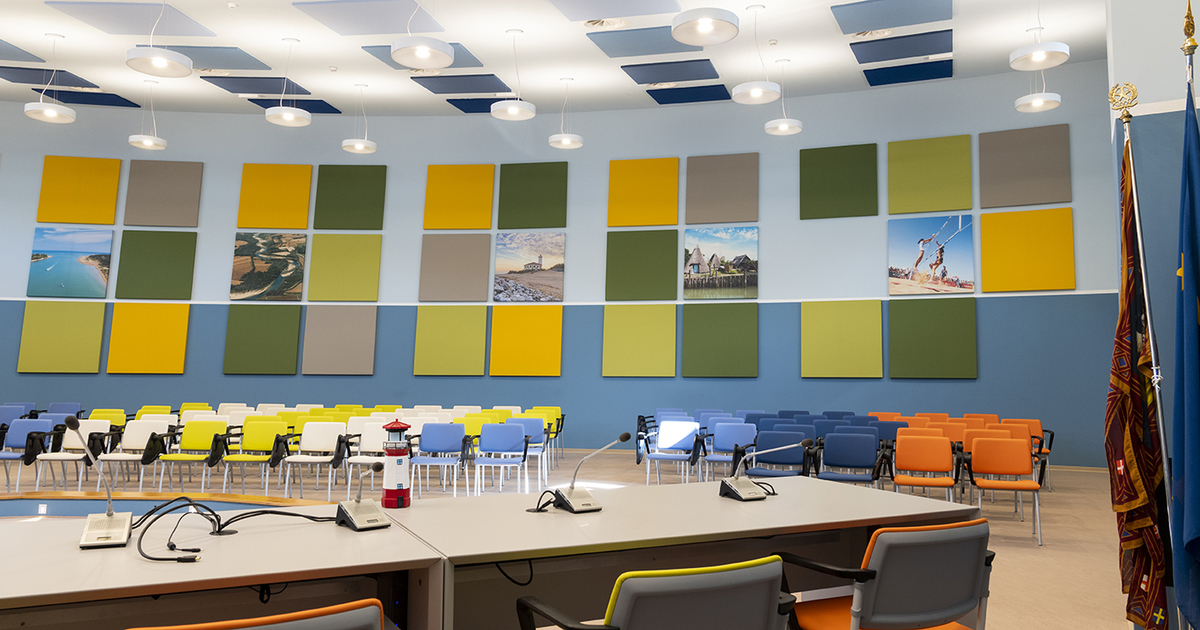The new Bibione Conference Room has been inaugurated with the contribution of Phonolook