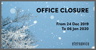 Offices closure - Christmas Holidays!